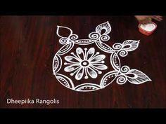 Best rangoli design for new year 2019 * sankranthi muggulu * new kolam designs - YouTube