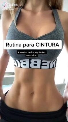 Full Body Gym Workout, Slim Waist Workout, Gym Workout Videos, Gym Workout For Beginners, Abs Workout Routines, Fitness Workout For Women, Fitness Workouts, Easy Workouts, Fitness Tips