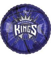 """Sacramento Kings 18"""" Basketball Balloon"""