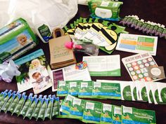 Healthy baby Home Party kit~ Love that this kit included everything I needed for my party!! #fighttoxins #healthyhome #seventhgeneration #generationgood #homeparty #freesamples #baby #blogger #blog