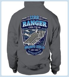 USS Ranger CV61 Hoodie (*Partner Link)