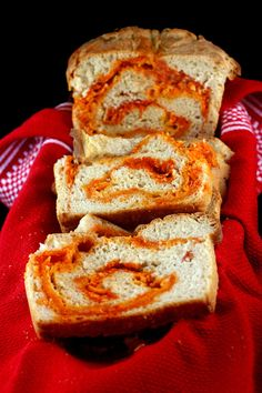 Sriracha-Cheddar-Pepperjack Swirl Bread | The 23 Most Perfect Foods In The Universe