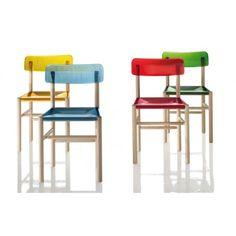 Trattoria   chair by Jasper Morrison for Magis