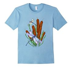 Cattails and Dragonflies t-shirt - Male Small - Baby Blue SpiceTree Designs http://www.amazon.com/dp/B0170S2C8M/ref=cm_sw_r_pi_dp_MAPkwb00YHW3M