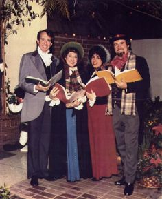 Christmas Carolers - Dickens Costumes