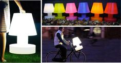 Portable lamp Bloom