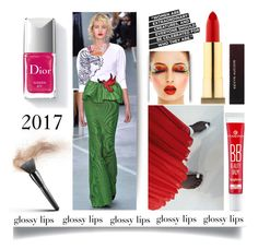 """Ultra Glossy Lips'"" by dianefantasy ❤ liked on Polyvore featuring beauty, Couture Colour, Kevyn Aucoin, polyvorecommunity, polyvoreeditorial and glossylips"