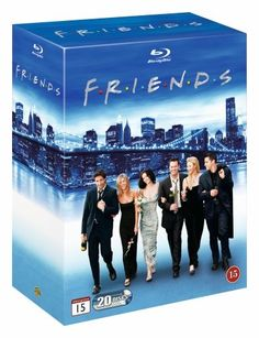 Friends - Seizoen 1 t/m 10 (De Complete Serie) (Blu-ray) (Blu-ray), David Schwimmer David Schwimmer, Matt Leblanc, Matthew Perry, Jennifer Aniston, Courtney Cox, Serie Friends, Friends Tv Show, Friends Episodes, Video France