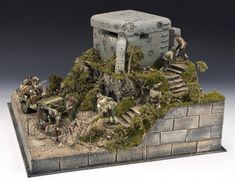 King & Country is the largest military miniatures, military figurines and toy soldiers's collectibles producer in the world. 40k Terrain, Wargaming Terrain, Bunker, Lego Soldiers, D Day Normandy, War Thunder, Model Tanks, Military Modelling, Fantasy Miniatures