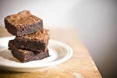 I'd choose brownies over cake any day.