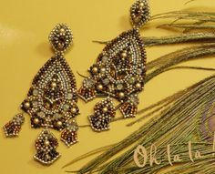 Swarovski and Sterling Silver Statement Earrings by OhlalaJewelry