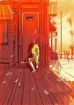 ⌨NINETEEN EIGHTY SOMETHING by Pascal Campion⌨ #pascalcampion #paintings #artwork