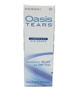 OASIS Tears® Multidose - Lubricating Drops - Preserved: Supplements: Dry Eye Therapy: Amcon Labs - The Eyecare Supply Center Dry Eye, Lab Supplies, Eye Drops, Personalized Products, Labs, Preserves, Therapy, Medical, Preserve
