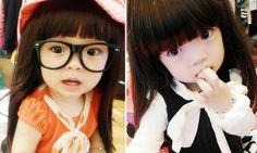 Hsuan Hsuan trở thành bé cưng của hơn 400.000 Facebooker bởi dáng vẻ kute  không chịu nổi .