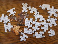 Puzzle letter- I have done these for yrs.  lots of fun!  :)