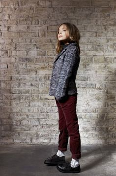 Tailored tweeds for girls from Finger in the Nose winter 2012