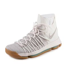 3ef2024366ca Nike Men s Zoom KD9 Elite Pale Grey Pale Grey Ivory Basketball Shoe 8.5 Men