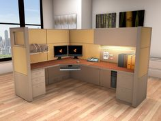 Cubicle Systems - #6x8x66