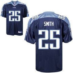 NFL Tennessee Titans  25 Anthony Smith Premier Dark Blue Men Jersey 94378344f