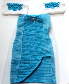 crochet a dress from frozen | Frozen Crochet Projects