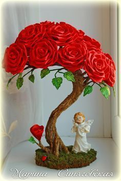 It is a website for handmade creations,with free patterns for croshet and knitting , in many techniques & designs. Nylon Flowers, Diy Flowers, Beaded Flowers, Fabric Flowers, Paper Flowers, Diy Arts And Crafts, Clay Crafts, Crafts For Kids, Paper Crafts