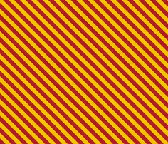 Harry Potter Inspired Diagonal Gryffindor Stripes - Small fabric by appliquegeek on Spoonflower - custom fabric