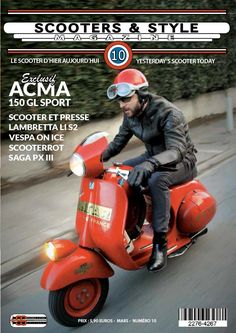 Scooters & Style magazine   Yesterday's scooter today