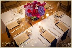 Chicago Wedding at Greenhouse Lofts. Photo provided by Heather Parker Photography and LK Events. #details #navy #pink #purple