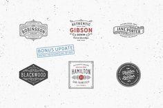 80 Modern Vintage Logos vol 2 - Logos