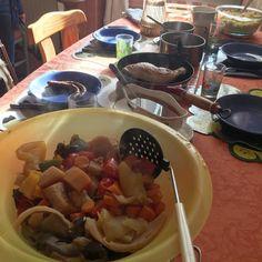 cuisinedemememoniq:  Le couscous est à table : légumes semoule...