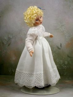 Fiona with Dolly by Doll Artist Terri Davis