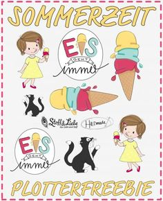Stoff Design, Freebies, Silhouette Cameo, Brother, Comics, Diy, Silhouette Projects, Summer Time, Card Crafts