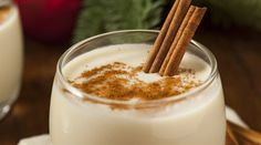Eggnog recipe using fresh, homemade almond milk, frozen banana, dates, a touch of vanilla and spices to reproduce a thick, creamy version of this holiday treat.