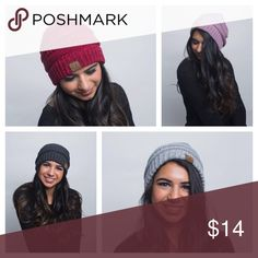C.C Beanie This fall's must have item! C.C Beanies are super comfy and perfectly slouchy as well as warm and cozy!    •100% acrylic.   •This item comes new from manufacturer. C.C Beanie Accessories Hats
