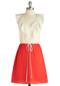 I don't think I can live without this dress...  Parfait for the Course Dress, ModCloth