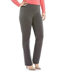 Vince Camuto Plus Front Seam Pants #Dillards