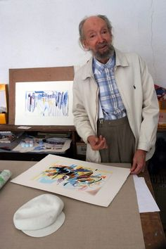 Nadir Afonso,December 4, 1920 – December 11, 2013) was a geometric abstractionist painter. Formally trained in architecture, which he practiced early in his career with Le Corbusier and Oscar Niemeyer, Nadir Afonso later studied painting in Paris and beca