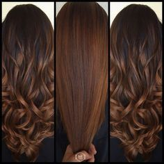 14 Winter Hair Color Trends You Have To Watch This Year - Color para el cabello - Hair Color And Cut, Brown Hair Colors, Level 4 Hair Color, Fall Hair Colour, Fall Hair Color For Brunettes, Hair Color Balayage, Ombre Hair, Soft Balayage, Bayalage