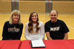 #Phs_wire's Kaydon Fosler has committed her future academic and athletic career to Western Michigan University in Kalamazoo, MI. Kaydon is the daughter of Don and Kayla Fosler, She has a GPA of 3.333 and her class rank is 91st out of 286. She is a three-sport athlete for the Pilgrims. She competes in soccer, basketball, and track and field. #Phs_Athletics1 #PlymouthCSC_IN