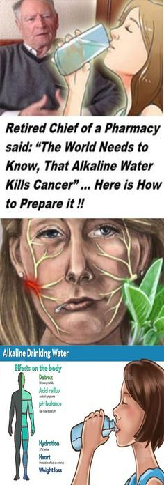 """Retired Chief of a Pharmacy said: """"The World needs to Know, That Alkaline Water Kills Cancer"""" … Here is How to Prepare it! #fitness #beauty #hair #workout #health #diy #skin #Pore #skincare #skintags #skintagremover #facemask #DIY #workout #womenproblems #haircare #teethcare #homerecipe #health #disease #remedies #cellilute #homeremedies"""
