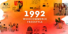 1992 - Freestyle WordPress Theme - Modern WooCommerce Store Our 1992 is a WooCommerce WordPress theme which focuses on online shop for kids. Although this theme is for Kids, their parents are the main shopper. So 1992's design is not like a kindergarten, we just make it more adorable with hover effect on buttons in the main white and black color of the theme. Therefore, the theme is for kids, but still clean and elegant.