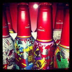Muy chulo el diseño de Cerveza Dorada para el Carnaval 2012