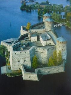 Olavinlinna Castle. Finland