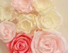 Papel gigante flor boda Decor fondo fotos Prop