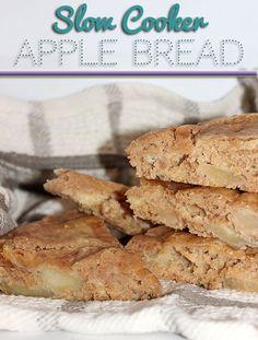 Slow Cooker Apple Bread #Recipe