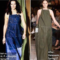 Maison Martin Margiela vs Vêtements