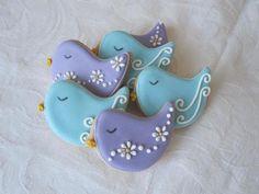 Sweet n Pretty Iced Bird Cookies by Sweet 'n' Pretty