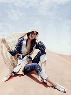 Editorial Shoot in Morocco // Won-Kyung Lee By Gun-Ho Lee For Vogue Korea June 2013 As 'The Middle East Story'