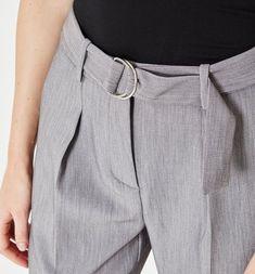 Női magasderekú nadrág French Fashion, Perfect Fit, Chic, Fall, Womens Fashion, Pants, Clothes, Shabby Chic, Autumn