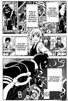 ASSASSINATION CLASSROOM CHAPTER 141 read this at mangafreak.net #manga #anime #mangafreak